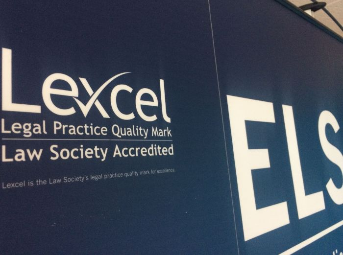 "View ELS  is commended for achieving a ""high level of competence against the LexCel Standard"""