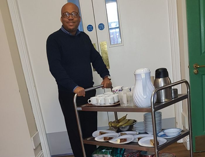 View Good Tidings find Comfort and Joy at Christmas Care Home visit.