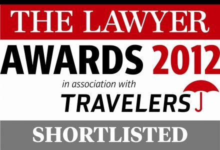 The Lawyer Awards 2012 ELS Shortlisted